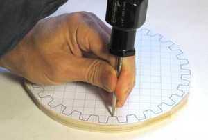 Engrenagens de madeira