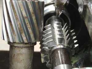 Fábrica de engrenagens industriais