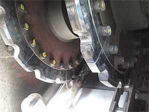 Roda dentada para corrente de elos
