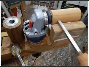 Rolete de madeira