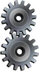 Engrenagem mecânica industrial