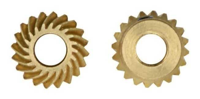Engrenagens cônicas dentes espiral