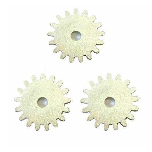 Engrenagens para espetos rotativos
