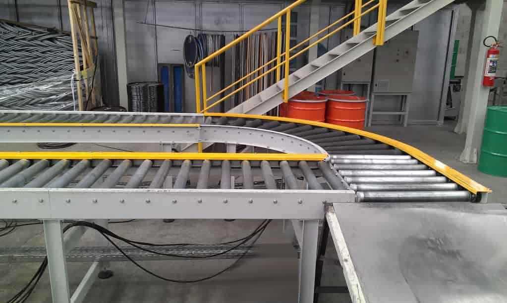 Fabricantes de rolete transportador